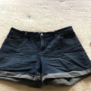 NY & Co jeans short shorts